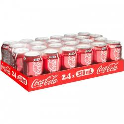 Coca-Cola Can 330ml (Pack of 24)