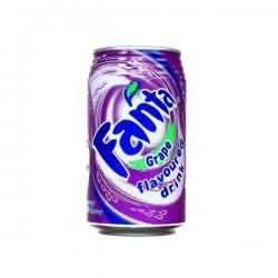 Fanta Grape Soda - 330ml